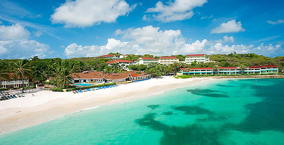 Grand Pineapple Beach Resort Antigua all inclusive vacations